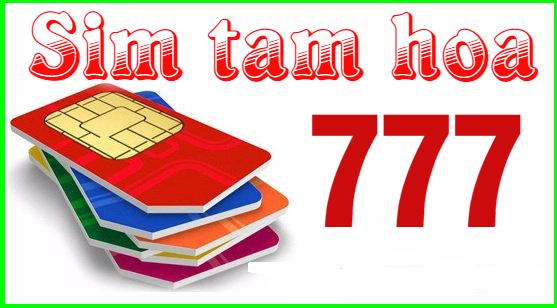 Đặt mua sim tam hoa 7 thật dễ dàng với mức giá tốt nhất tại Chosim24h.com