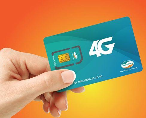 Sim 4G Viettel giá bao nhiêu